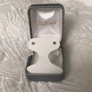 Star Ear Jacket Earrings